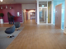 Laminate Effect Floor Tiling to Adagio Hotel entrance