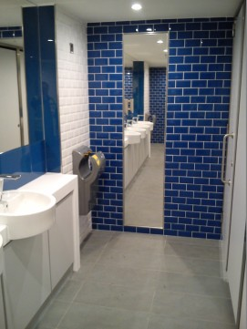 WC Tiling at Barclays Bank Processing Centre, Wavertee 2
