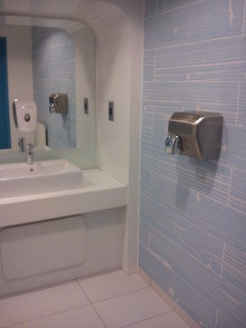 Blue Timber Effect Plank Tiles