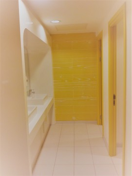 Yellow Timber Effect Plank Tiles